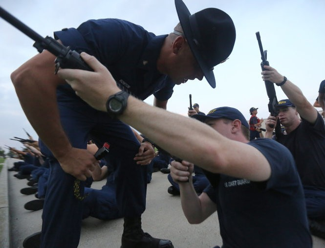 A rare, behind-the-scenes look at Coast Guard training in Cape May