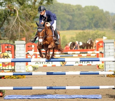 Sinead Halpin and Manoir de Carniville were fault-free in the CIC 3-star show jumping phase at the Plantation Field event and went on to win the division with a perfect performance cross-country