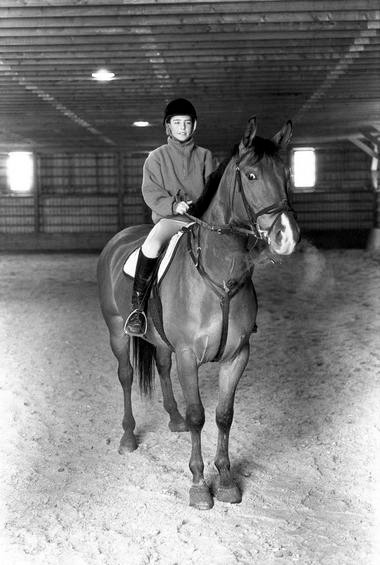 Paul Halpern as a teen on Prince of Thieves, who had a trophy donated in his memory during Toronto's Royal Winter Fair last week