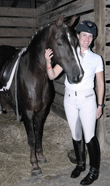 Lauren Chumley and her pony pal, Avatar's Jazzman.