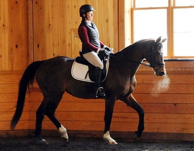 Linda Higger moved on from losing her first horse when she teamed up with Julliet.