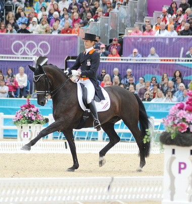 The Netherlands' Edward Gal is heading for the Reem Acra Dressage World Cup Finals with Glock's Undercover.