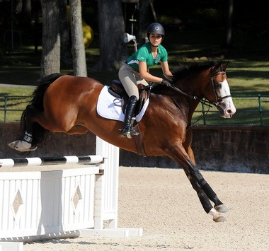 "Ariana Morales of Shrewsbury had ""the round of the day"" as the U.S. Hunter Jumper Association's Emerging Athletes Program regional training session concluded in Gladstone last week."