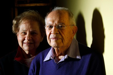 Renee Glassman and her husband Jerry Glassman, an 80-year-old private detective who has been involved in helping teachers beat child abuse cases