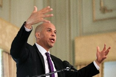 Newark Mayor Cory Booker is a heavy favorite to win the special election on Oct. 16.