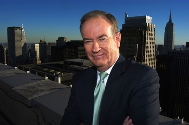 Fox News commentator Bill O'Reilly, is seen in this file photo in New York.