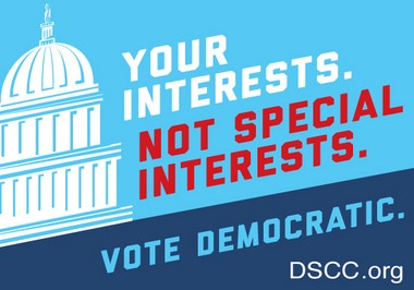 Democratic Senatorial Campaign Committee Sticker