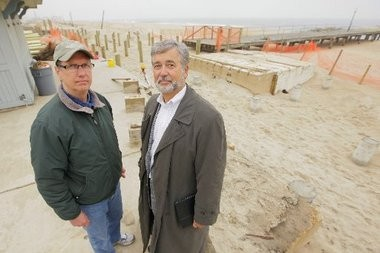 Bill Bailey and Ralph Del Campo of the Ocean Grove Camp Meeting Association