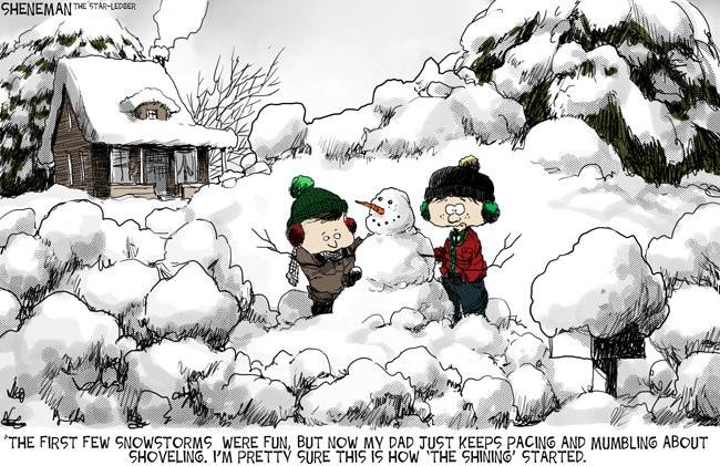 Drew Sheneman cartoon: The end is nigh - nj com