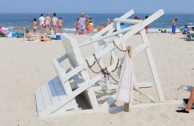 Woman dies after being caught in apparent rip current, officials say