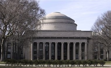 """The """"Great Dome"""" atop the Barker Engineering Library on the campus of the Massachusetts Institute of Technology in Cambridge, Mass. Nicholas Paggi, a 24-year-old 2015 graduate of the university, died Wednesday after he fell from the dome, according to reports. (AP Photo/Charles Krupa)"""