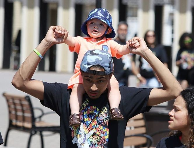 Autism Day at Six Flags Great Adventure. (David Gard | For NJ Advance Media)