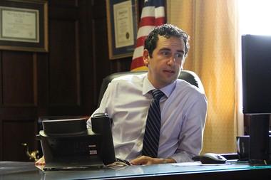 Jersey City Mayor Steven Fulop