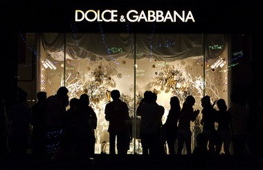 It seems that Dolce and Gabbana have been more successful in telling us what to wear than what to think.