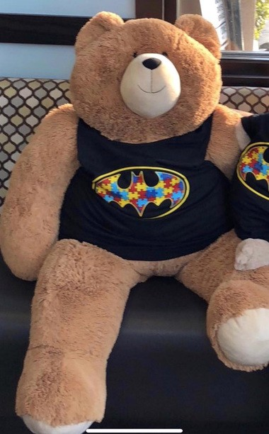 The bear that was taken from Allwood Diner in Clifton on Monday had been a mascot for the business and used to raise money for autism awareness, diner workers said. (Allwood Diner)