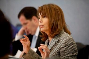 State Sen. Barbara Buono is pictured in a 2010 file photo.