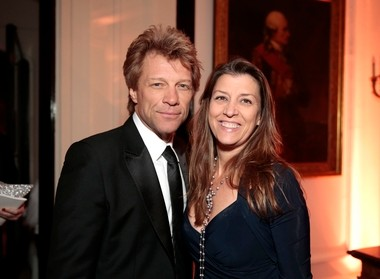Jon Bon Jovi, who appears in this photo with his wife Dorothea Hurley at the White House Correspondents' Association after-party Sunday, will accompany Gov. Chris Christie today when he signs a bill shielding from prosecution people who report a drug overdose.