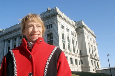 Hoboken City Councilwoman Beth Mason is shown in this file photo.