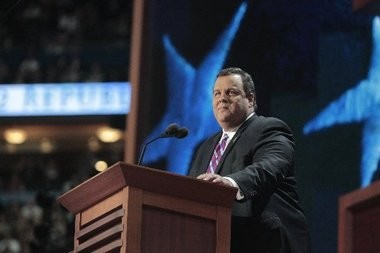 Gov. Chris Christie, shown here at the Republican National Convention in Tampa, remains popular in New Jersey, according to a Quinnipiac University poll released today. But it's not rubbing off on candidates down-ballot.