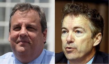 Gov. Chris Christie (left) and U.S. Sen. Rand Paul of Kentucky are possible Republican candidates in the 2016 presidential race.