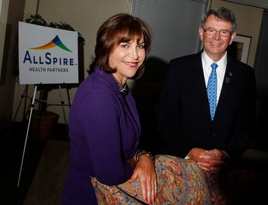 Karen Kessler, Atlantic Health's board chair, and Ronald Swinfard, president and CEO of Lehigh Valley Health Network, helped form AllSpire Health Partners, a consortium of more than 30 hospitals in New Jersey, Pennsylvania and the Hudson River Valley of New York. AllSpire will share expertise and money and pursue research projects to compete in the era of Obamacare.