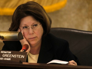 State Sen. Linda Greenstein (D-Middlesex) is shown in a file photo.