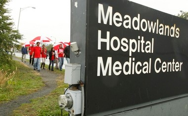 Meadowlands Hospital Medical Center in Secaucus is the most expensive hospital in the nation, according to an analysis of hospital claims in 2011-12 released today by National Nurses United, a labor and professional association group.