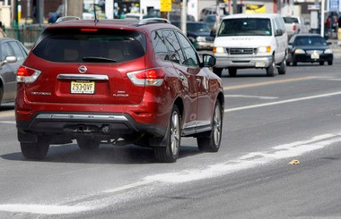 Salt on Frelinghuysen Avenue in Newark. The state Transportation Department has used more than 460,000 tons of salt — nearly an 80 percent increase over last winter — and enough to season a large order of McDonaldâs French fries for every New Jerseyan, every day for nearly 368 years.
