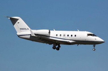 One of Melgen's two private jets. (Brian Thompson   via Flickr with permission)
