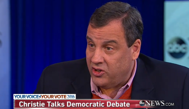 """Gov. Chris Christie appears on ABC's """"This Week"""" on Sunday morning."""