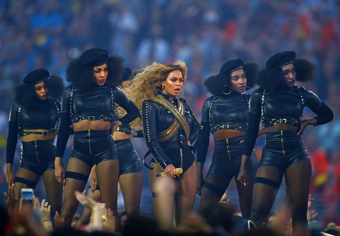 """Police groups have criticized pop star Beyonce, claiming her Super Bowl halftime performance was """"anti-police."""""""