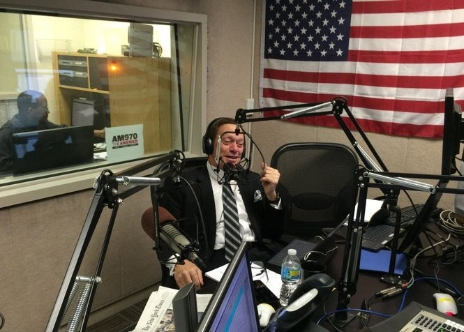 Comedian Joe Piscopo hosts his morning-drive radio show on The Answer 970-AM in New York City. (Photo by Brent Johnson | NJ Advance Media for NJ.com)