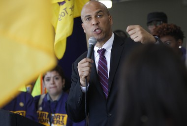 U.S. Sen. Cory Booker is pictured in a file photo.