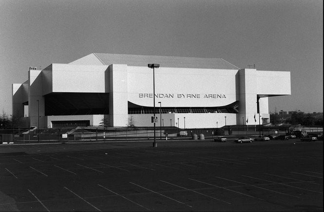 The Brendan Byrne Arena at the Meadowlands, before the governor's name came off the building. (Star-Ledger file photo)