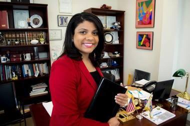 New state Assemblywoman Britnee Timberlake.