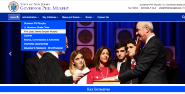 First Lady Tammy Murphy's role in Gov. Phil Murphy's administration is ill-defined but plays an outsize role in policy making, Democrats in the Legislature say. Although un-elected and unpaid, she appears on the official website for the Murphy administration above his cabinet.