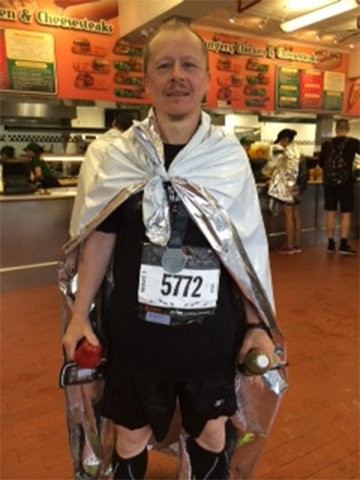 Francisco Vidal was treated for prostate cancer at ProCure while training for the Brooklyn Half Marathon.