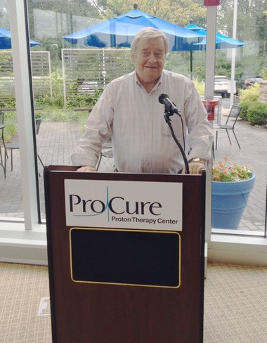 As a result of his satisfaction with ProCure Proton Therapy Center in Somerset and the outcome of his treatment, Bob Jones serves as a patient ambassador and hopes to help other men just beginning their treatment journey.