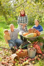 Nothing says family fun quite like apple and pumpkin picking in the fall.