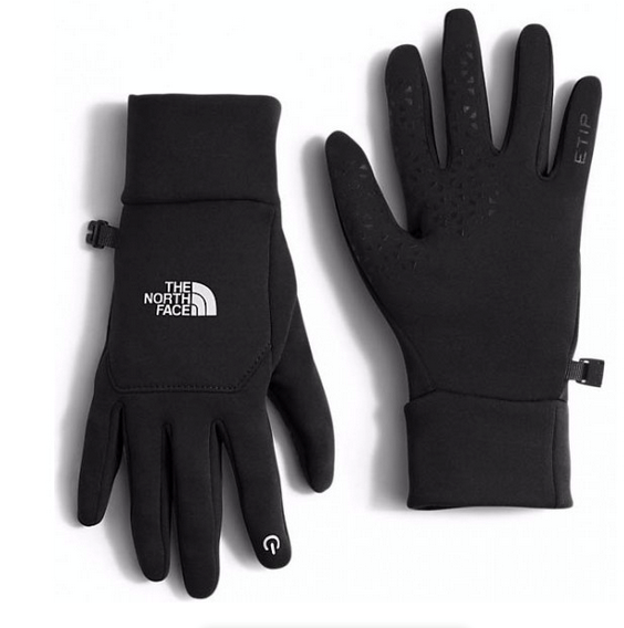 These touchscreen gloves by The North Face are functional and comfortable.