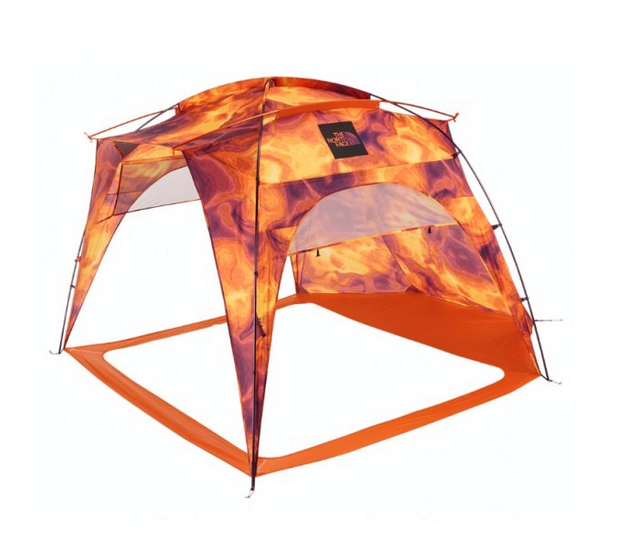 This lightweight canopy by The North Face easily transports to the beach, the campsite or the game.