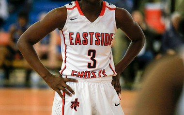 The Eastside girls play against Wayne Valley. (Andrew Mills | NJ Advance Media for NJ.com)