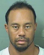 Tiger Woods' booking photo, courtesy of the Palm Beach County Sheriff's Office