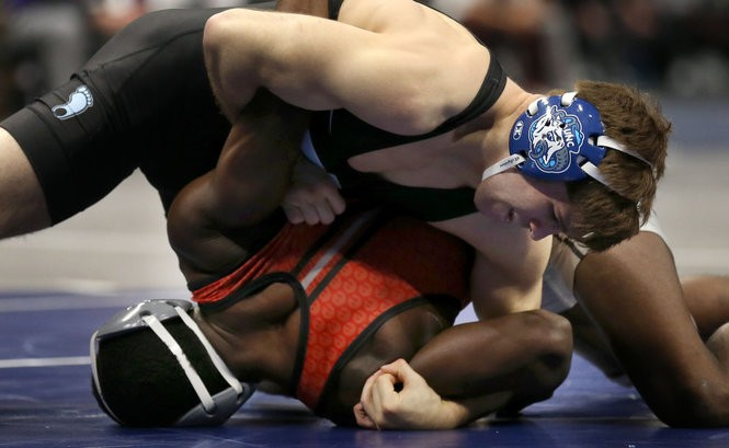 buy popular 706f6 57cc7 NCAA Wrestling Championships 2018  Day 2 Hot takes, results and ...