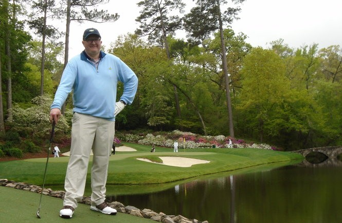 I played Augusta National and had my own Masters meltdown