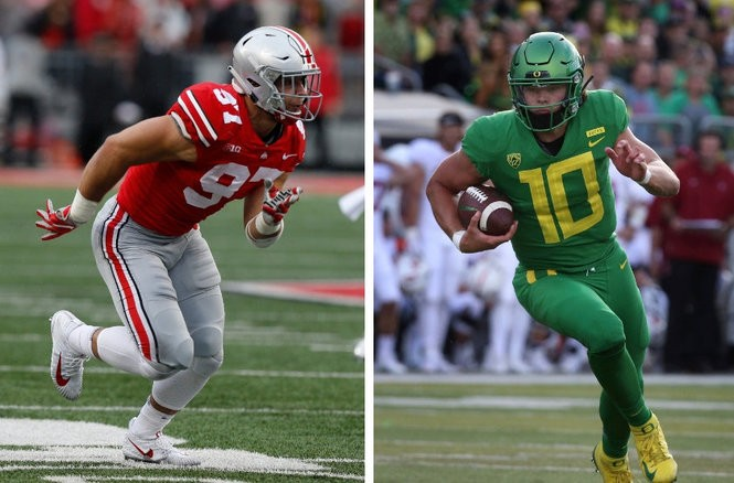 f746a27ed46 NFL Draft 2019: Top 20 prospects after 4 Weeks of College Football | Nick  Bosa, Justin Herbert, Ed Oliver
