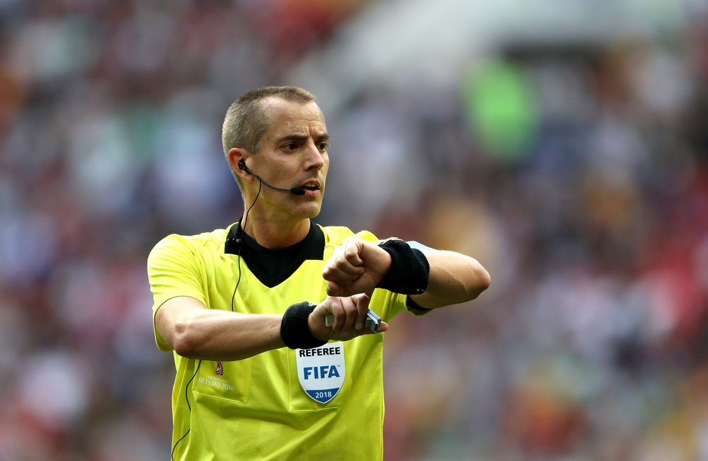 1c553049b07 World Cup 2018: N.J. ref Mark Geiger ripped on Twitter after controversial  Colombia-England match