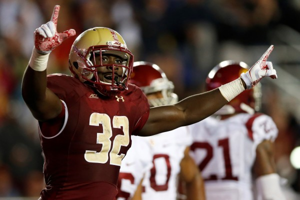 newest 5e49f 2c163 Potential Boston College RB grad transfer Jon Hilliman to ...
