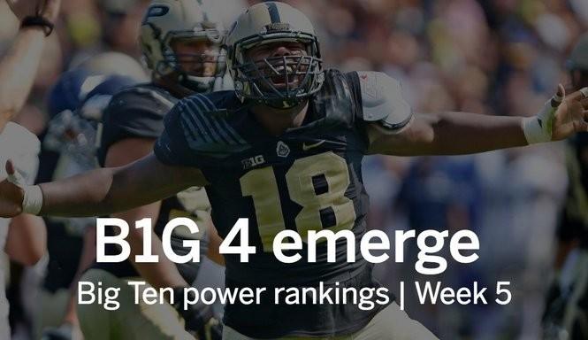 d2eabb8d8087 Big Ten power rankings: Michigan and Wisconsin in top 3 heading into  showdown