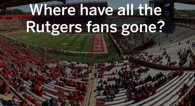 At Rutgers Bad Football Leads To Dwindling Attendance Nj Com